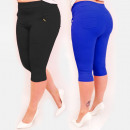 wholesale Fashion & Apparel: C17621 Comfortable Pants, Plus Size, 3/4 length