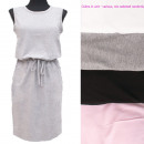 wholesale Fashion & Apparel: Cotton Women Sweatshirt Dress, UNI, 5240