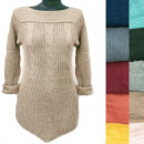 wholesale Pullover & Sweatshirts: Asymmetrical Women Sweater, Weave Braids, R131