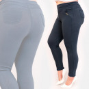 Großhandel Hosen: C17630 Damen Plus Size Hose, Golddekoration