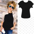 Großhandel Hemden & Blusen: 4651 Baumwollhemd, Top Bluse, Sweet Dots