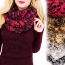 ingrosso Ingrosso Abbigliamento & Accessori: A1225 Peloso  Sciarpa, Ciminiera caldo, pelliccia