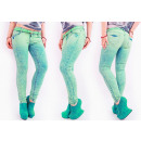 Großhandel Fashion & Accessoires: B16741 Mint Women Jeans, Hose, Ombre