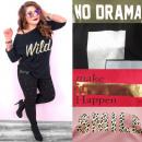 wholesale Fashion & Apparel: Women Blouse, Long Sleeve, Print, 2XL-4XL N092