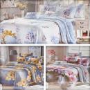 wholesale Bedlinen & Mattresses: Bedding set 200x220, 4 pieces, Z045