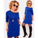 A1006 Soft Dress, Tunic, Retro Style