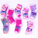 Childrens socks, cotton , Mix of Patterns, 27-38