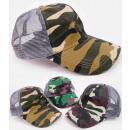 Großhandel Fashion & Accessoires: C1929 Baseballmütze, Moro-Muster, Mesh