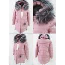 wholesale Coats & Jackets: E3 Winter Women Jacket, Pompon, Plus Size, Pink