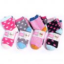 Großhandel Kinder- und Babybekleidung: Kindersocken, Baumwolle , Mega Print 22-34 551