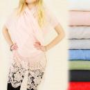 wholesale Pullover & Sweatshirts: FL350 FINE SCARF,  bedspread, SHAWL, LACE PATTERN