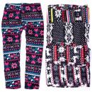 hurtownia Fashion & Moda: Norweskie Legginsy Dziecięce, Polar, 134-158, 5159