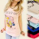 Großhandel Hemden & Blusen: 3967 Top - Bluse, Schmuckuhr, Jets