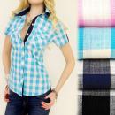 Großhandel Hemden & Blusen: BI403 POSH SHIRT, schöne Muster CHEQUERED