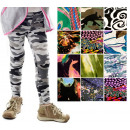 4803 Girls Leggings, Pants, 90-140, Many Patterns