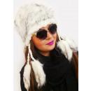 groothandel Kleding & Fashion: A1248 Harige vrouwennap met fleece in Indiase ...