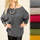 ingrosso Ingrosso Abbigliamento & Accessori: G216 maglione  oversize  allentato, tunica, ...