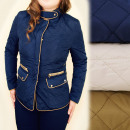 wholesale Coats & Jackets: A28155 Autumn,  Quilted Jacket, Elegant Line
