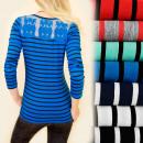 D2659 Blusa superior de algodón de moda, buho de e