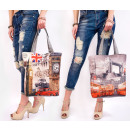 groothandel Tassen & reisartikelen: T46 City Ladies Bag, Shopper, London & Paris