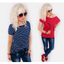wholesale Shirts & Blouses: D26108 Cotton Top,  Loose Blouse, Casual Line