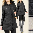 wholesale Coats & Jackets: B16414 ORIGINAL  WINTER COAT, herringbone PATTERN