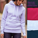 wholesale Shirts & Blouses: Cotton Women Hoodie, Sporty Casual, S-XL, N096