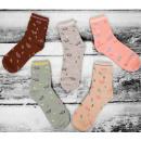 Großhandel Strümpfe & Socken: SOF03 Cotton Damen Socken, Elefanten, 35 - 38