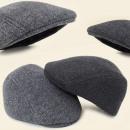 C17419 classique Casquette de laine pour hommes, c