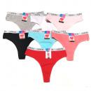 wholesale Fashion & Apparel: Cotton women's thongs, L-2XL, 5760