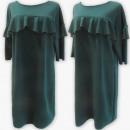 Großhandel Kleider: D4071 Kleid, Made In Poland, 48-54, Grün