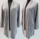 wholesale Coats & Jackets: D4081 Jacket, Cardigan, Melange, C Gray 48-54