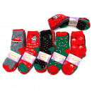 wholesale Stockings & Socks: Women's socks, cotton , Christmas, 5731