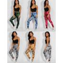 Großhandel Sportbekleidung: Damen Leggings, Fitness S-XL, Shaded, C17740