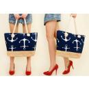 wholesale Shopping Bags: T32 Big City Bag, Shopper Bag, Anchors