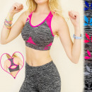 wholesale Lingerie & Underwear: 4074 SEXY SPORTS  BRA, TOP ON  FITNESS, tear ON ...