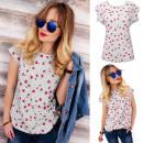 K491 Cotton Blouse  Top, T-Shirt , Lollipop Star