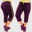 4603 Damen Shorts, Trainingshose Übergröße, Sport