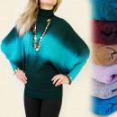 groothandel Kleding & Fashion: 3979 GEWELDIGE SWEATER, BATTERIJ, BUFFETS, OMBRE M