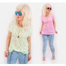 ingrosso Ingrosso Abbigliamento & Accessori: C11499 Blusa pastello con motivo a stella