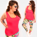 Großhandel Shirts & Tops: 4582 Classic Women Top, Träger, Übergröße, Basic