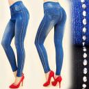 Großhandel Hosen: C17342 Jeans  Leggings, Hosen, Showy Jets