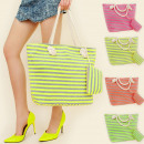 wholesale Bags & Travel accessories: T31 NEON SET: SHOPPER BAG + SACHET