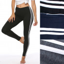Großhandel Sportbekleidung: Lange Damengamaschen, Sport, XL-3XL, 5478