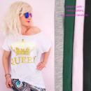 nagyker Pólók, shirt: Pamut női ing 4XL-ig, Aranykirálynő,
