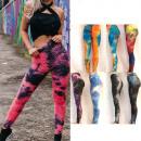Großhandel Sport & Freizeit: Damen Leggings, Fitness S-XL, Shaded, C17738