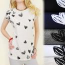wholesale Fashion & Mode: K371 COTTON  BLOUSE, TOP, LOVELY HEARTS