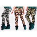 4413 Leggings Plus Size, Bamboo Slim, Moro Pattern