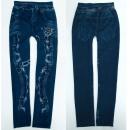 Warme Leggings Mädchen Jeans, 4-12 Jahre, A19260