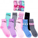 H110 Cotton Women Socks, Feminine Pattern
